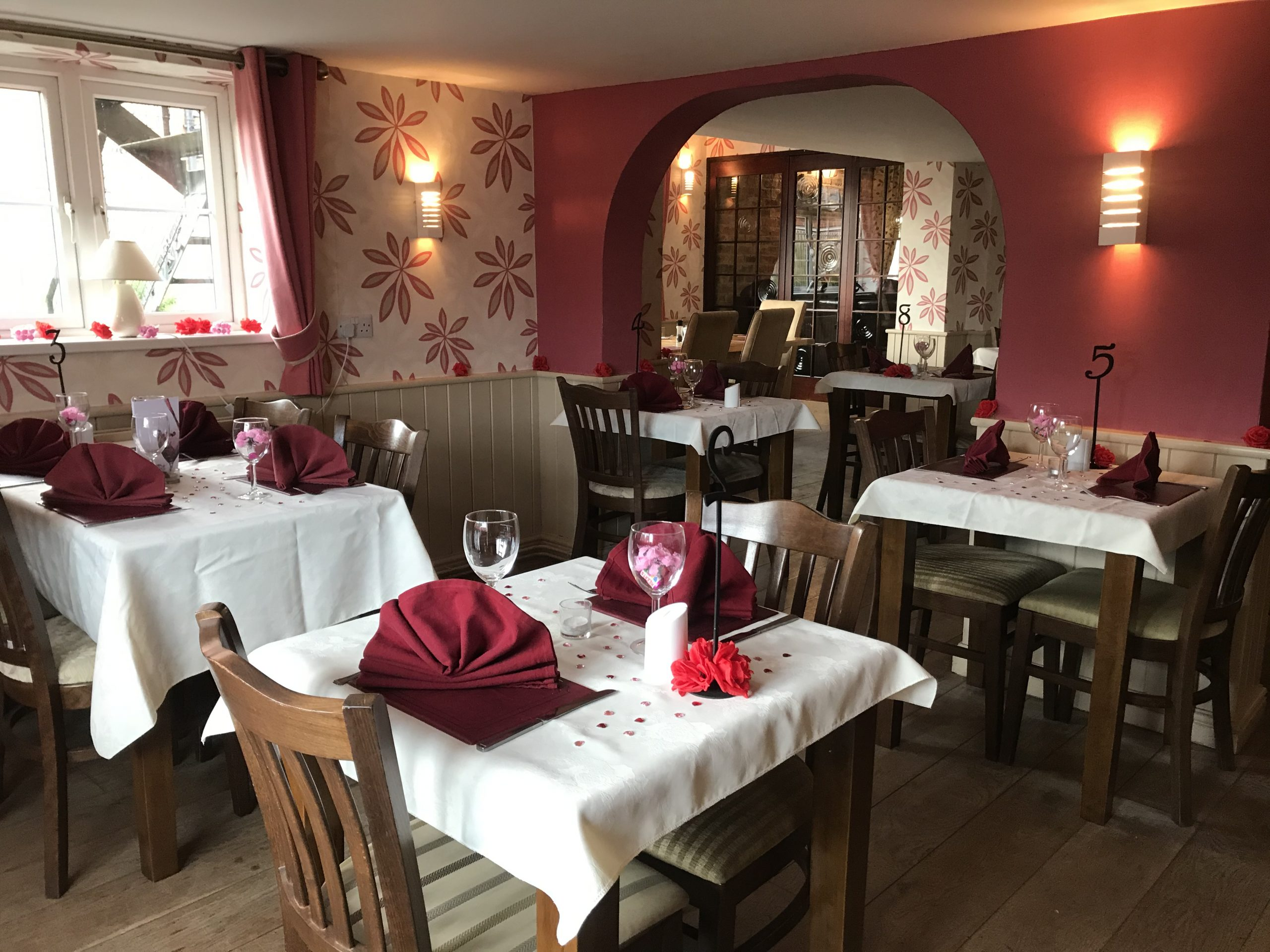 The Restaurant at The Horseshoes, Silk Willoughby