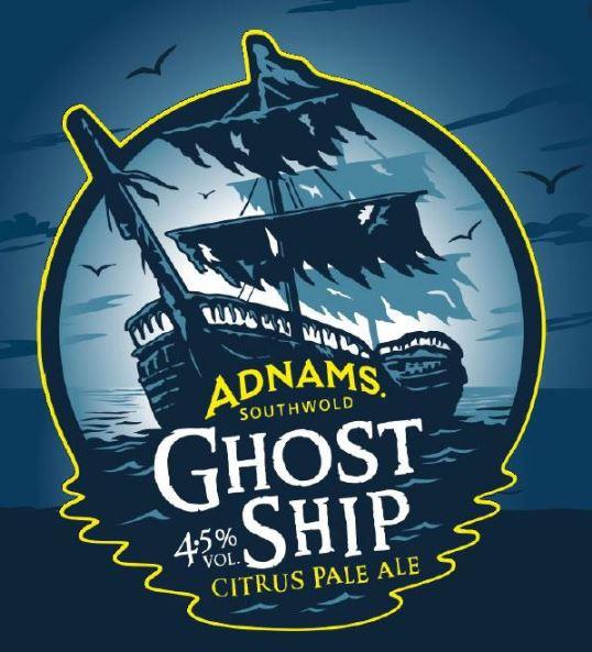 Adnams Ghost Ship Logo