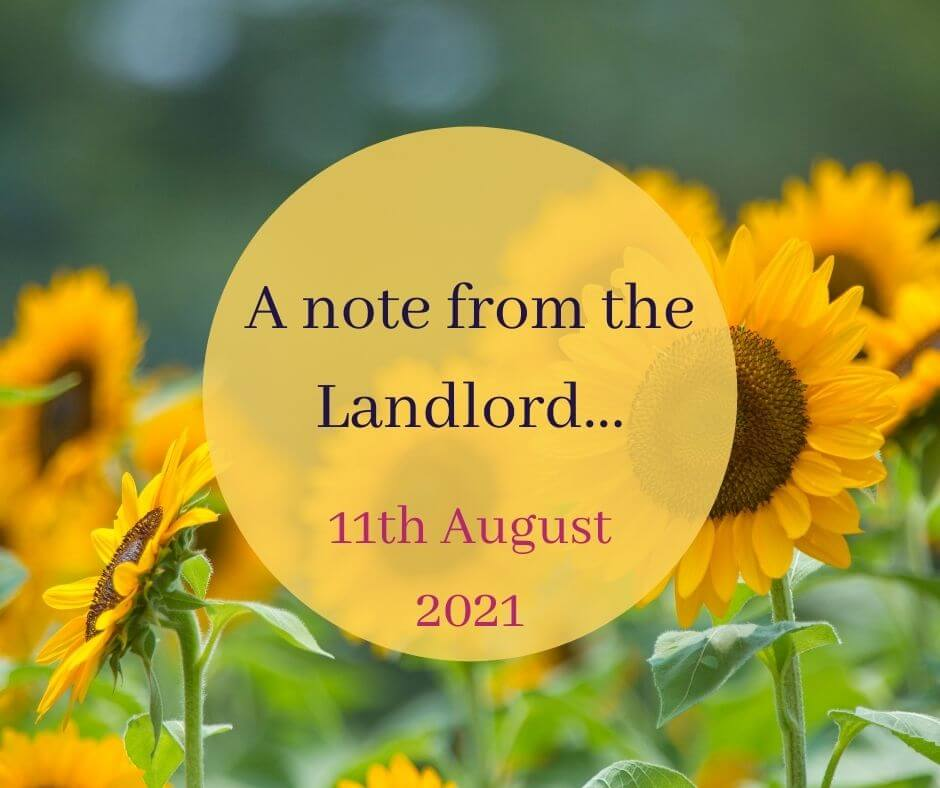 You are currently viewing A note from the Landlord